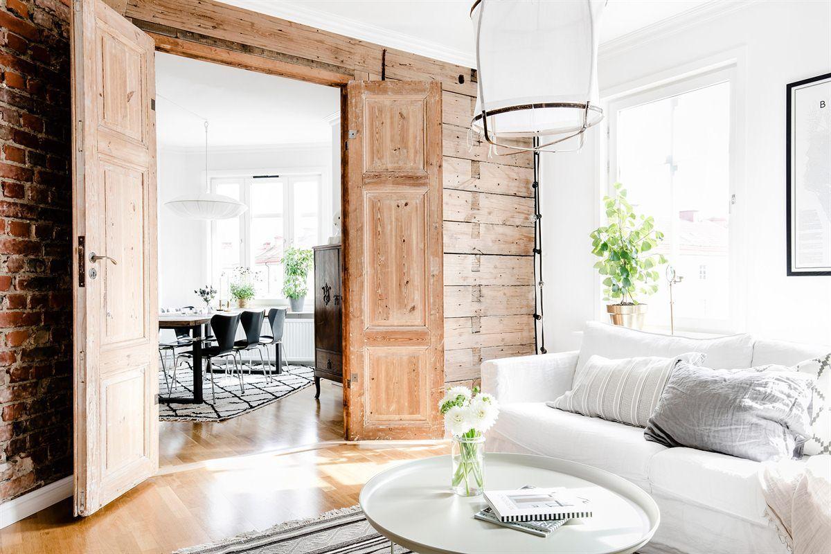 Als je dol bent op een scandinavisch interieur is dit je droomhuis