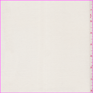Ivory Rayon Crepe Suiting - 26048 - Fabric By The Yard At Discount Prices