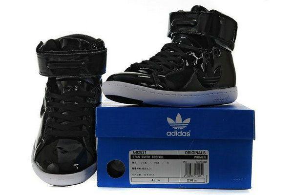 envidia T La risa  zapatillas adidas mujer stan smith trefoil high tops cuero negras -Zapatos  Adidas Baratos | Nike high tops, Adidas high tops, Nike