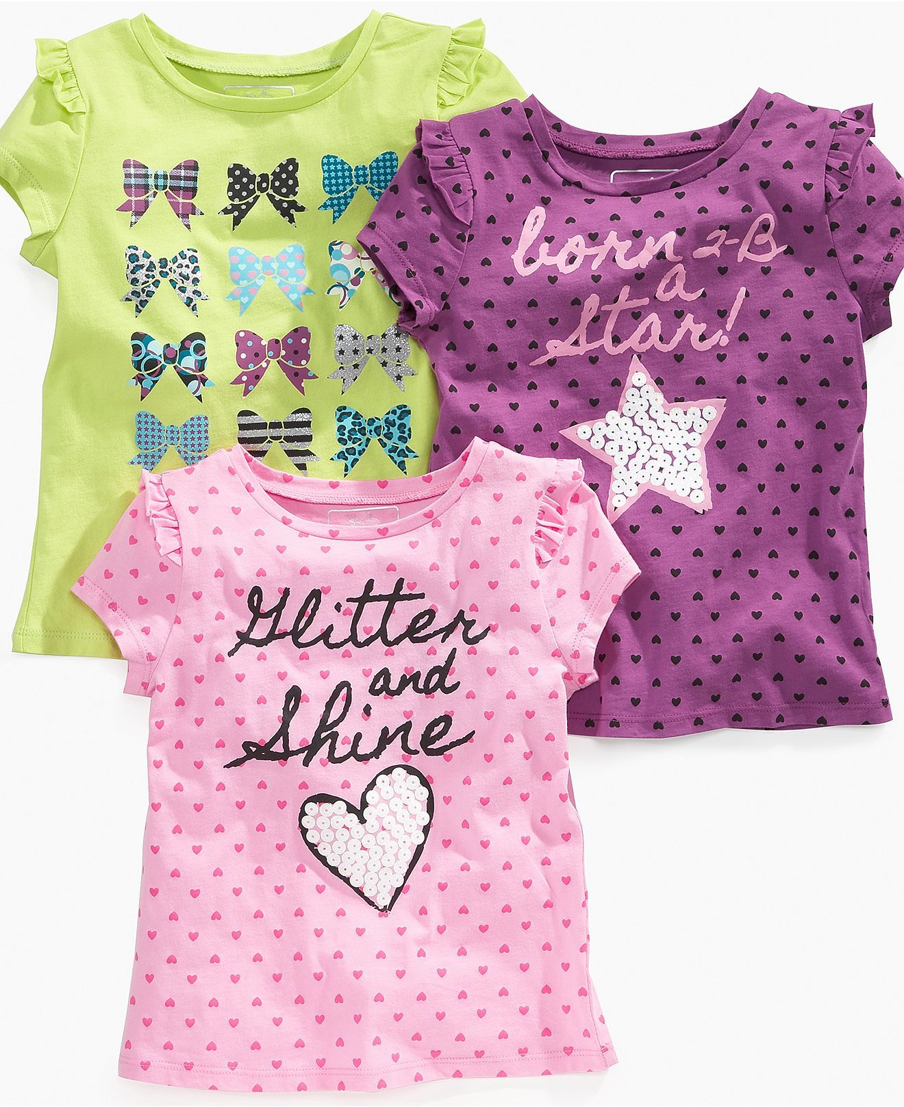 so jenni kids shirt little girls print graphic tees