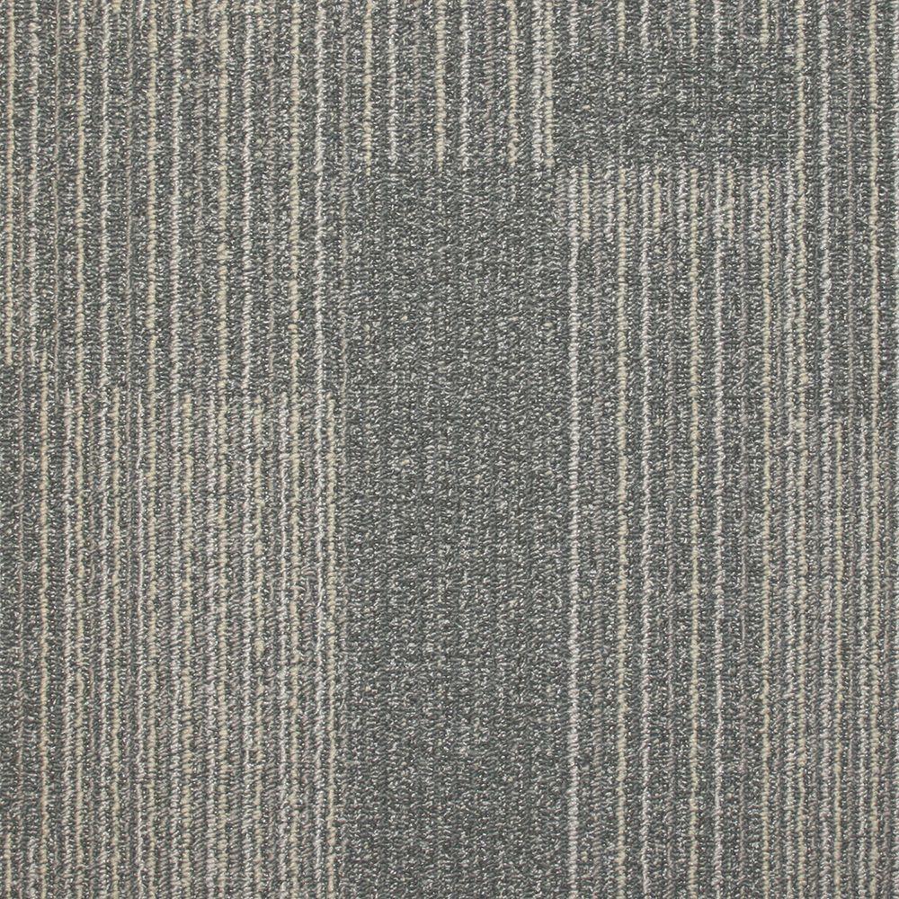 Trafficmaster Rockefeller Nickel Loop 19 7 In X 19 7 In Carpet