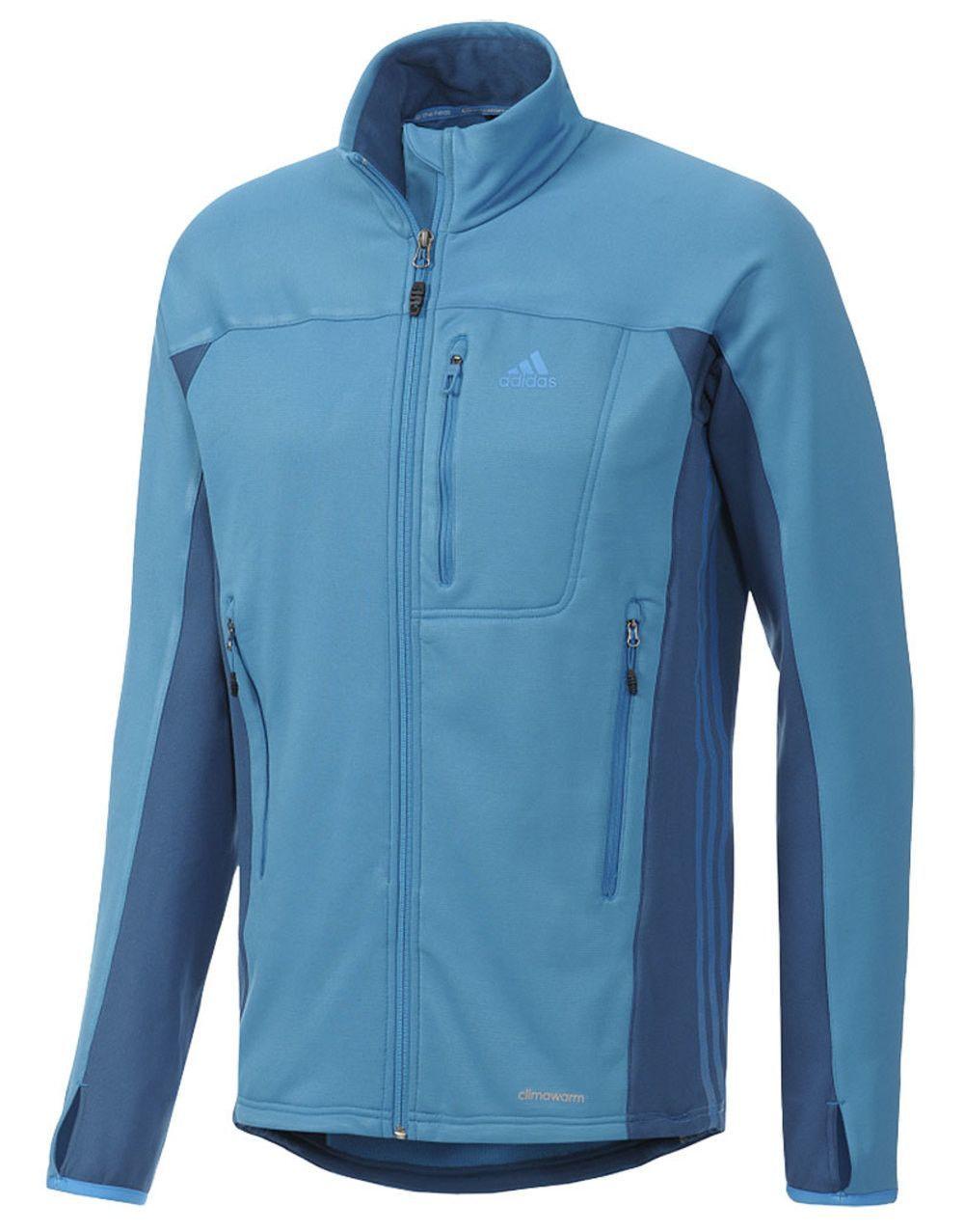 Terrex swift hollow fleece jacket by adidas sport performance mock