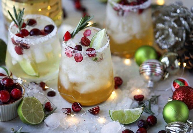 Christmas Margarita Recipe - Mistletoe Margaritas
