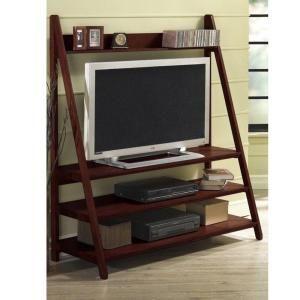 home decorators collection torrence dark walnut 64 in h wide screen rh pinterest com Best TV Stand for Bedroom Beach Bedroom Furniture