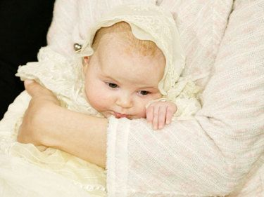 The Princess Ingrid Alexanrda of Norway - Christening 2004