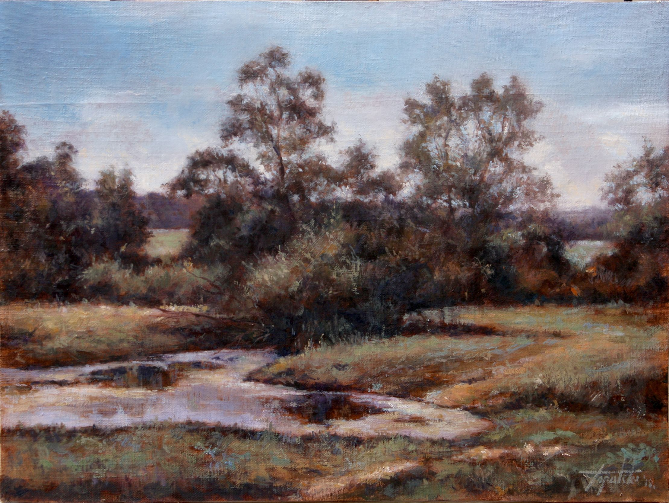 Summer Shades Landscape Oil Painting With Images Fine Art Painting Oil Painting Oil Painting Landscape