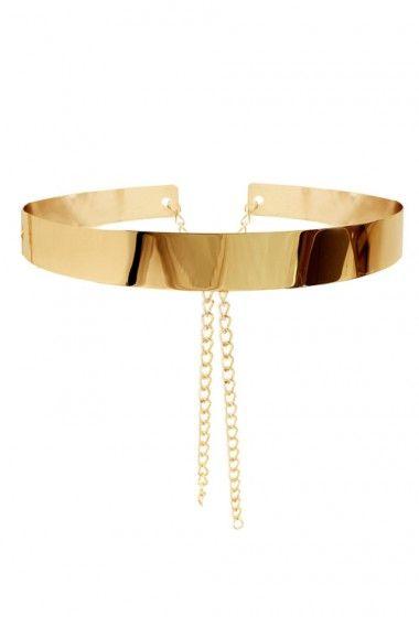 ba54e712af036 metal belt with chains | Style | Gold metal belt, Gold belt dress ...