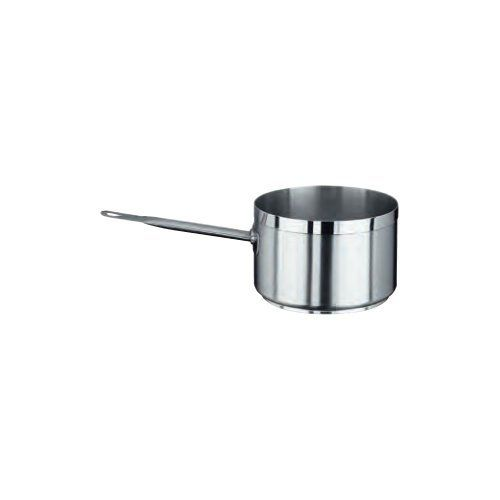 Vollrath 3707 14-Guage Stainless Steel Centurion Sauce Pan, 7-Quart by Vollrath. $157.83. Comes with 7-quart capacity; measures 9-1/2-inch diameter by 6-inch depth. Centurion deep, straight-sided sauce pan is ideal for cooking any food that has liquid in it. Cookware Type: Sauce Pan. Ship Weight: 6.1 lbs.. Cover Included: No. Made of 15-guage, heavy-duty 18-8 stainless steel material. Stay cool handle is a single piece of hollow, airtight, waterproof stainless steel, which ...