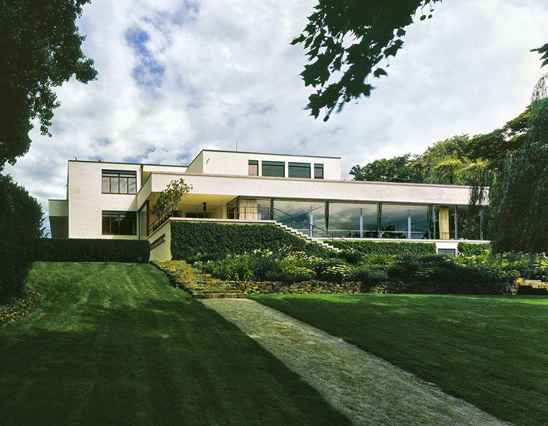 Villa Tugendhat Brno, Czech Republic Mies van der Rohe