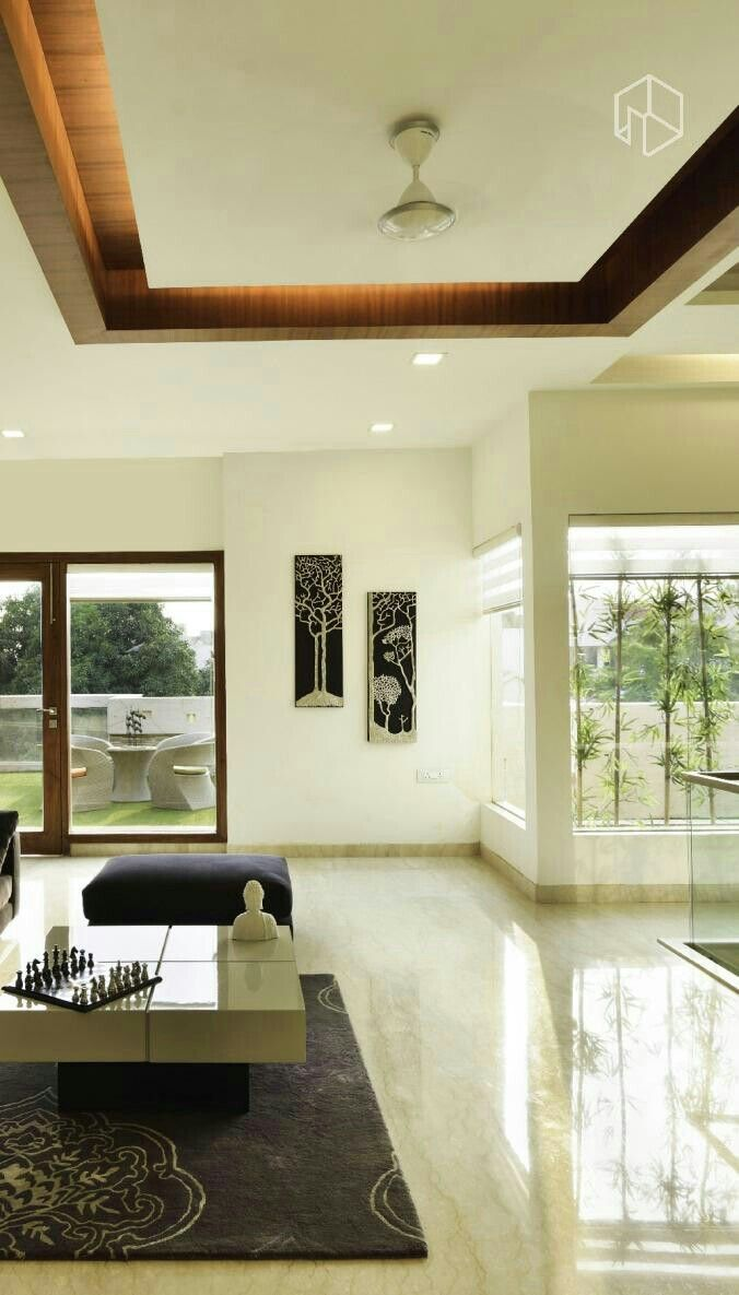 False Ceiling Designs For Living Room In Flats: Pin By Tulika Singh On Black Ct