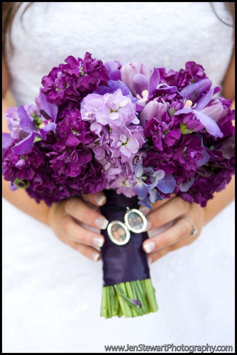 Purple bridal bouquets for weddings gorgeous from purple purple bridal bouquets for weddings gorgeous from purple hydrangea purple lisianthus stock tulips and junglespirit Choice Image
