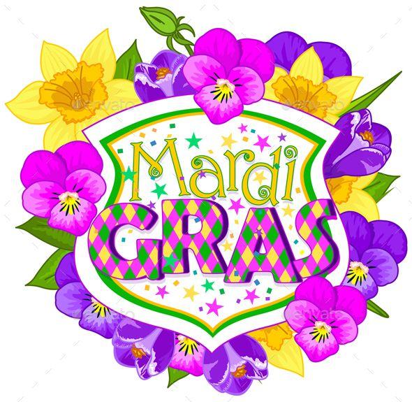 Floral Mardi Gras Blazon Fonts Logos Icons Pinterest Mardi