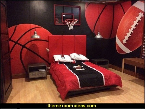 Marvelous Sports Bedrooms All Sports Theme Bedroom Wall Murals Decorating Ideas Sports  Bedrooms