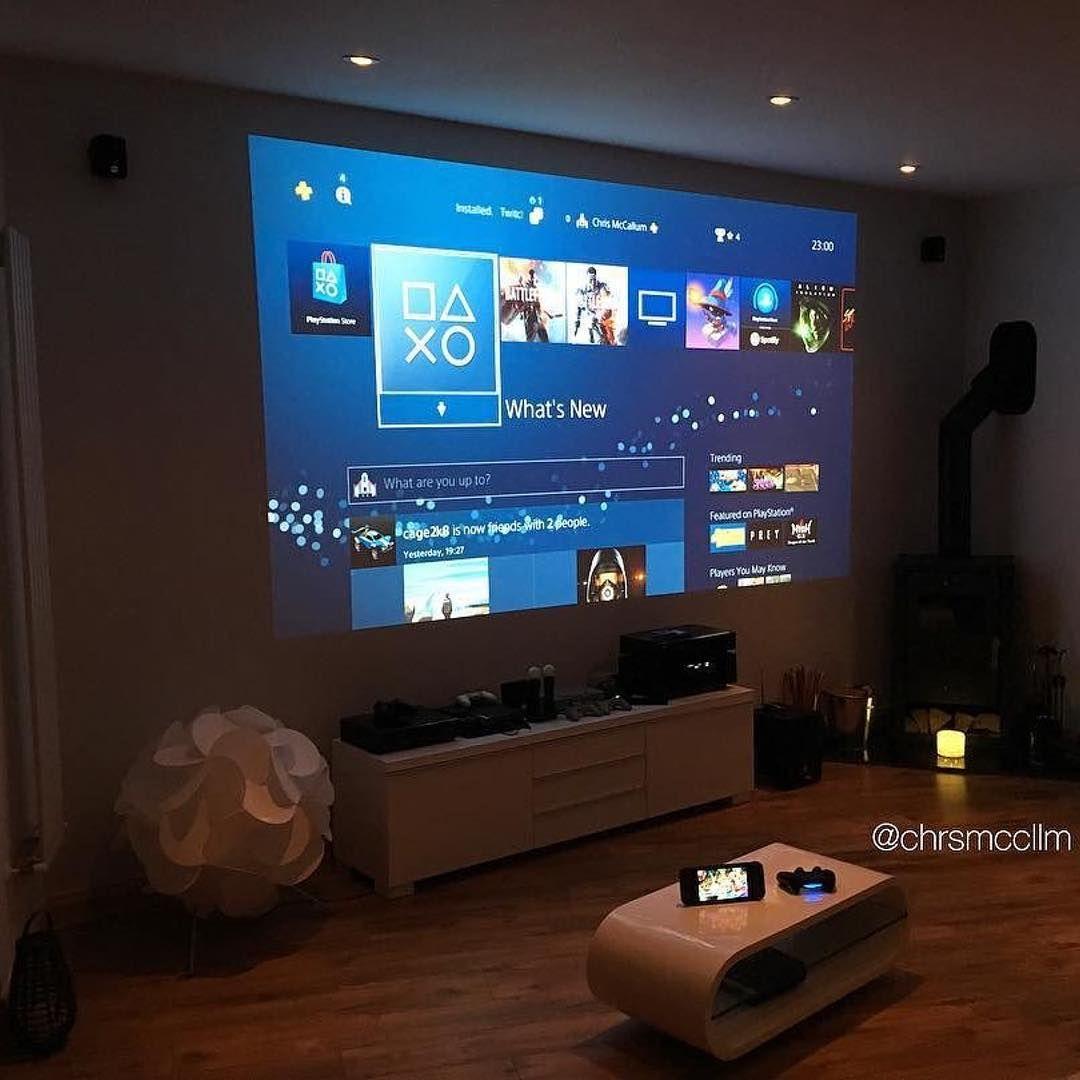 Cool setup 👌😎 Credit @chrsmccllm #playstation #playstation17