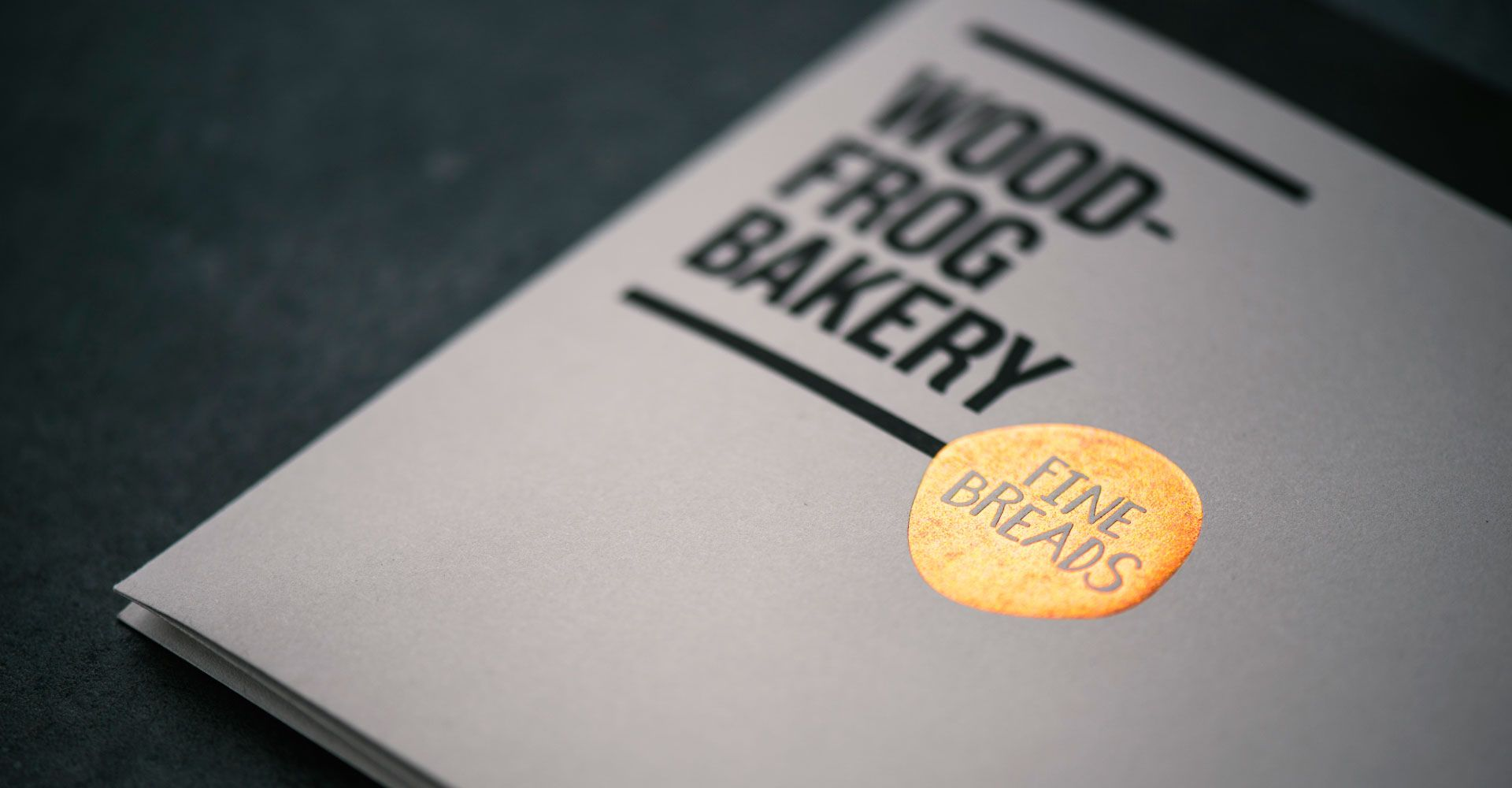 Woodfrog Bakery print by Assembly Branding  #design #brand