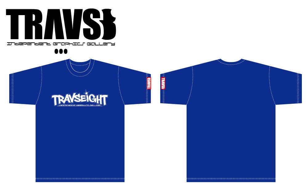 TRAVS8   T-Shirt No,5   4,900yen