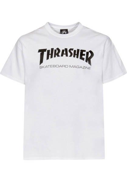 48a6e94c5f39b0 Thrasher Skate-Mag T-Shirt white