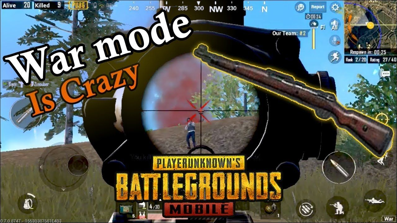 War Mode Is Crazy! | PUBG Mobile PlayerUnknown's
