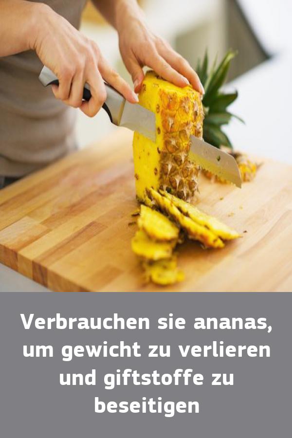 Wie Ananas zu essen, um Gewicht zu verlieren