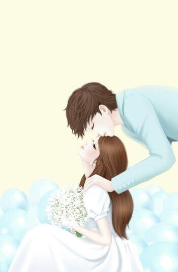 Lovely Love Cartoon Couple Cute Couple Cartoon Anime Love Couple