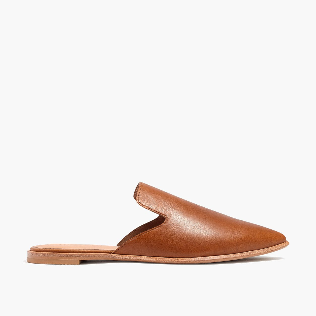 678215a49ed Madewell The Gemma Mule In Leather (Size 9 M