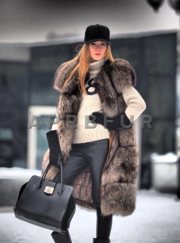 меховая жилетка с чем носить зимой фото этого замечательного
