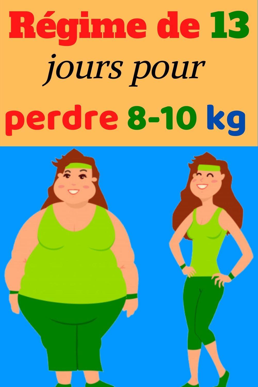 Regime de 13 jours en 2020   Perte de poids, Perdre du