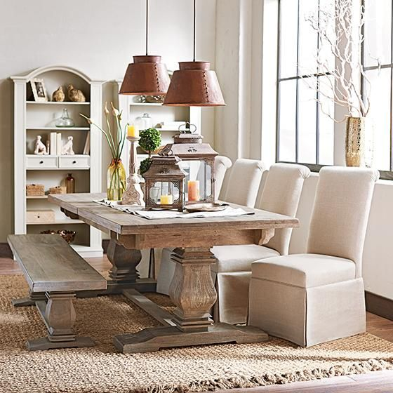 Aldridge Dining Bench from Home Decorators.com | Home -Kitchen ...