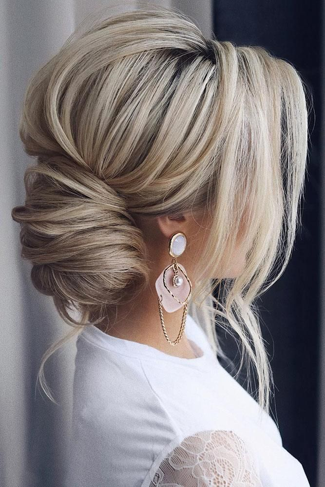 30 Timeless Bridal Hairstyles ❤️ If you're still looking for a great hairstyle for your wedding, take a moment to consider these wonderfully simple and elegant styles.