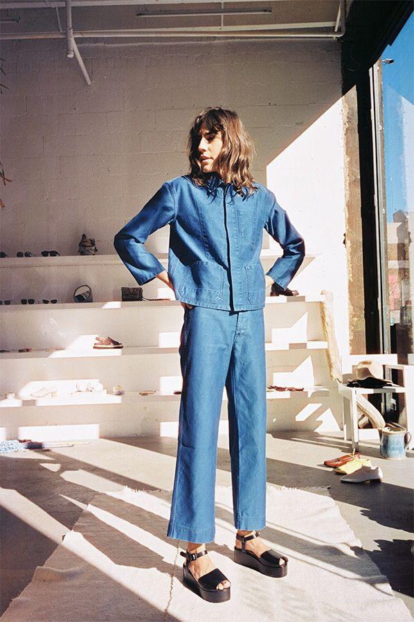 die besten 25 double denim trends ideen auf pinterest jeans mit jeans rundum jeans und ernte. Black Bedroom Furniture Sets. Home Design Ideas