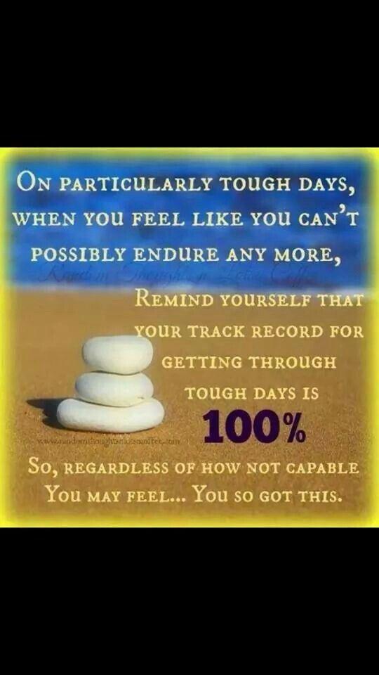 #toughdays #fnd