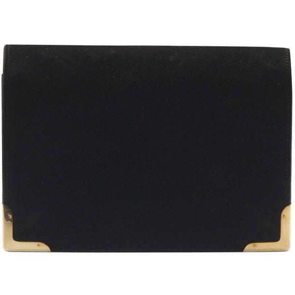 Hermès Pre-owned - Black Leather Clutch bag N9Bw4O6zj