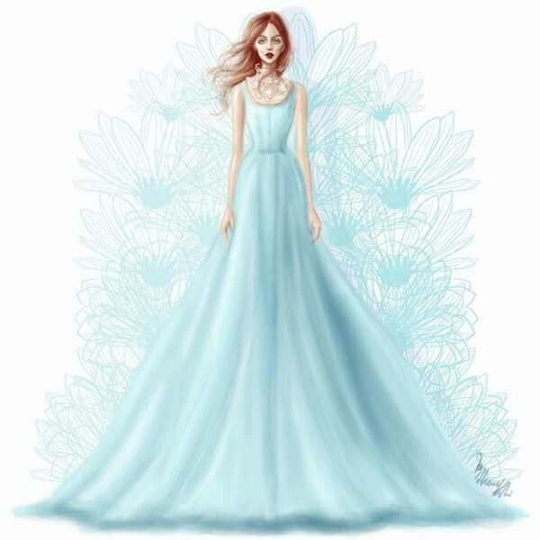 Soothing Blue | Fashion Design | Pinterest | Fashion design