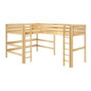 Queen Loft Bed | Queen Size Loft Beds for Adults #adultloftbed