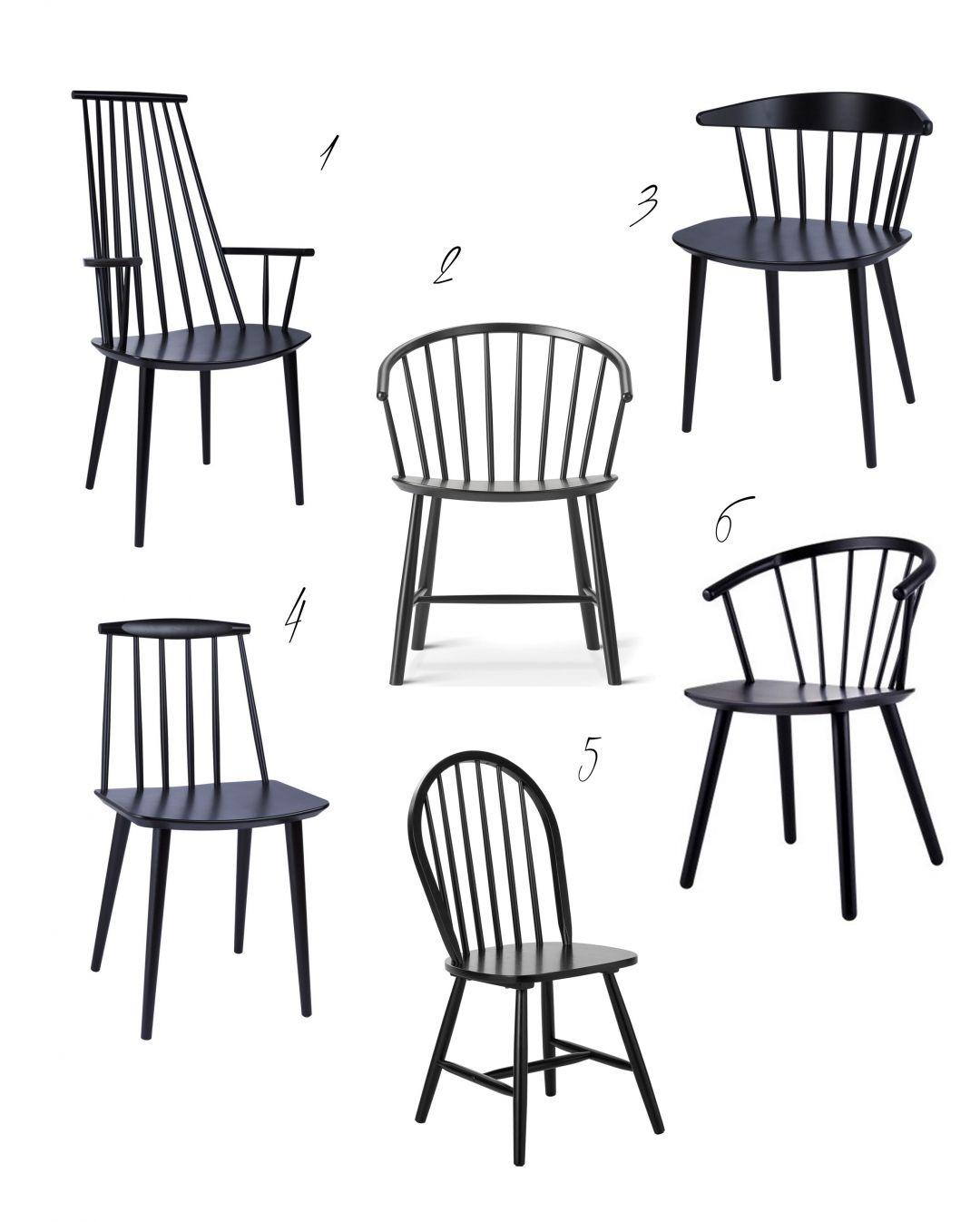 Schwarze Windsorstuhle Stabchen Stuhle Esszimmerstuhl Stuhle Esstisch Stuhle