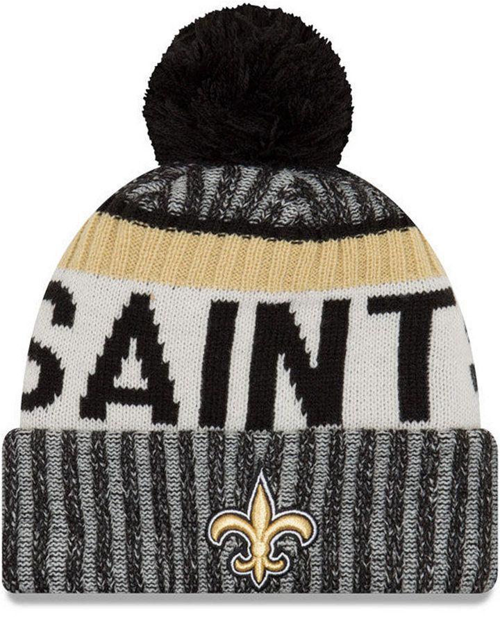 f202cc84f65 New Era New Orleans Saints Sport Knit Hat