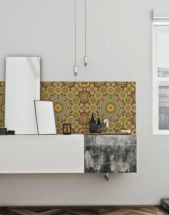 MORE | Kitchenwalls Waterproof Wallpaper Bathroom