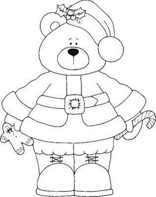 Pin de Kim Carter en Coloring pages: Teddy Bears | Pinterest ...