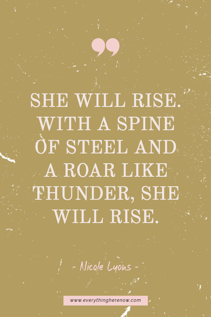 Determined Woman Quotes (+ 5 FREE wallpapers!) - Everything Here Now