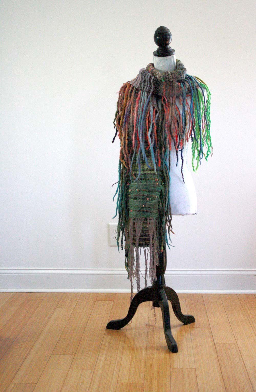 fiber art scarf by UrbanGypZ