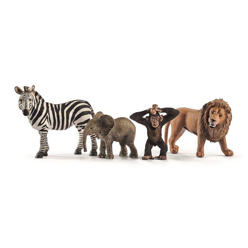 Schleich Dyr Kidscoolshop Wildlife Animals Schleich Animals Wild