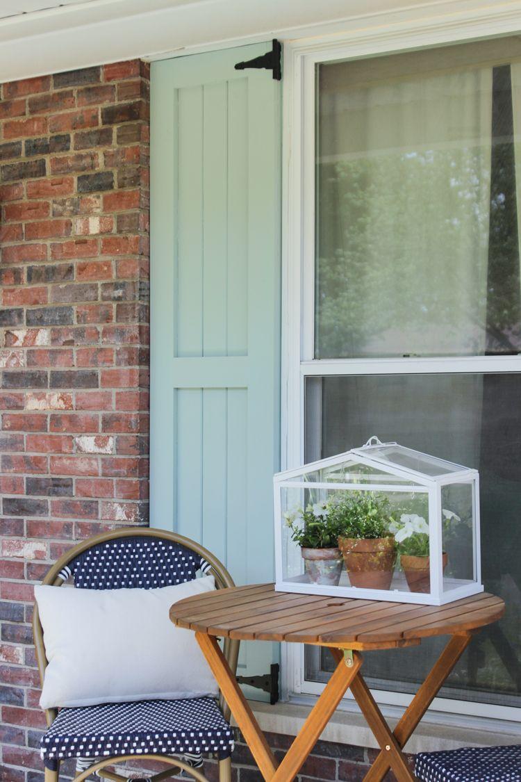Diy craftsman exterior shutters diy exterior diy