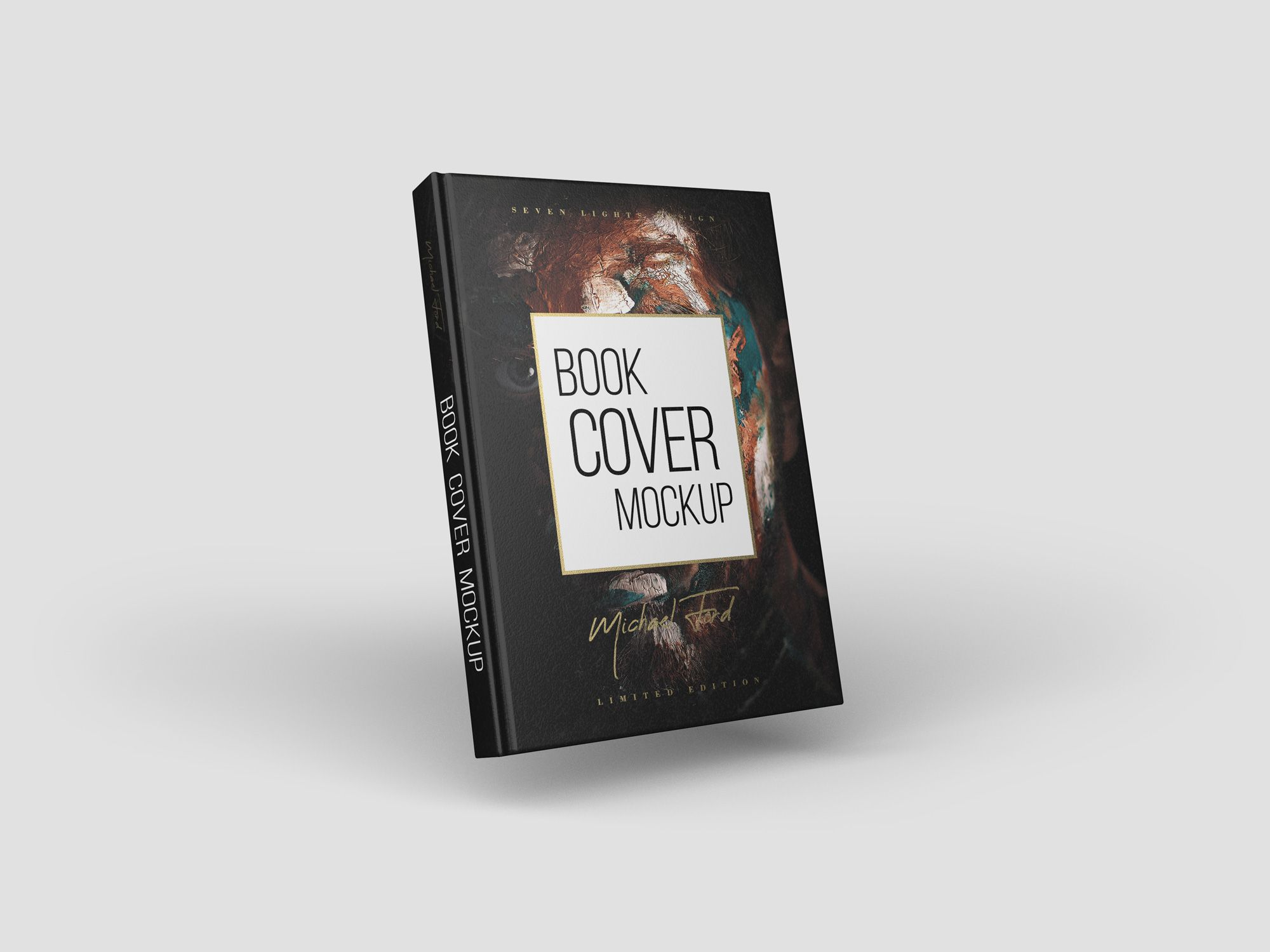 Download Cover Book Mockup Book Cover Mockup Book Cover Books PSD Mockup Templates