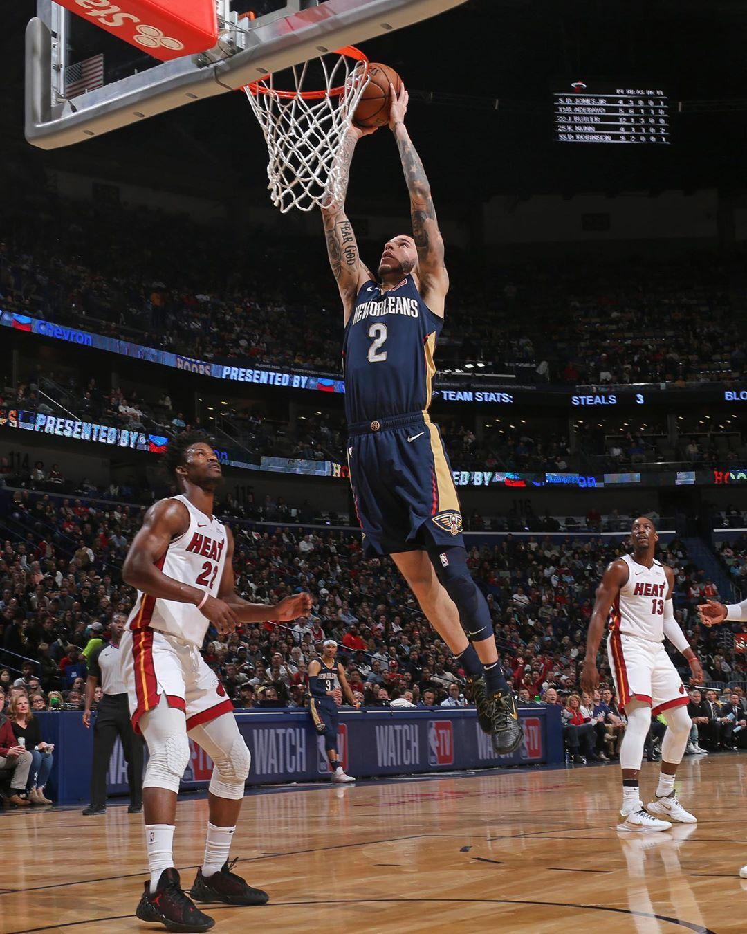 New Orleans Pelicans On Instagram Zo Up Top New Orleans Pelicans New Orleans Pelican