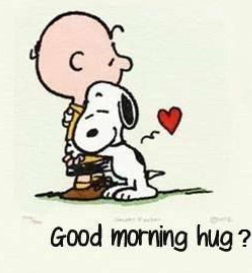 snoopy love hug Snoopy quotes, Good morning hug, Charlie