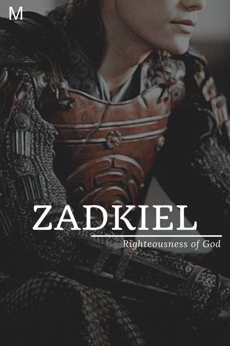 Zadkiel Zadkiel Meaning Righteousness Of God Zadkiel Baby Names Girl Vintage God Meaning Righteousnes In 2020 Unique Boy Names Romantic Girl Names Pretty Names
