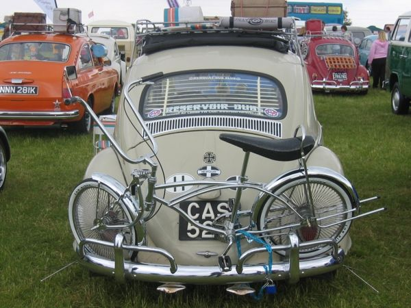 Old School Bike Rack Vw Beetle