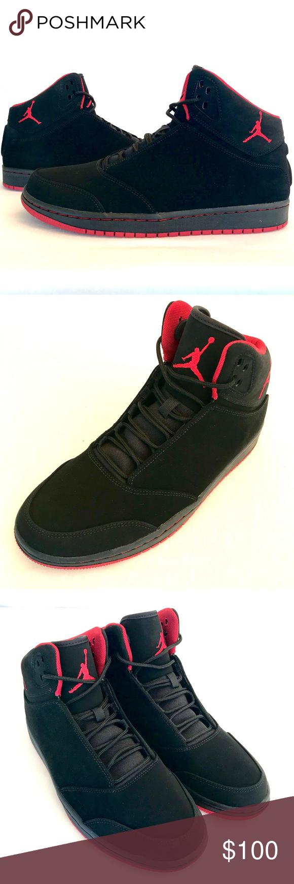 284ecc634216b5 NEW Air Jordan 1 Flight 5 Basketball Shoes Size 10 BRAND NEW Nike Air Jordan  1 Flight 5 Black Gym Red Basketball Shoes Size 10 Nike Shoes Athletic Shoes