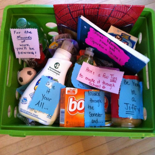 Gift basket for boyfriend going to college gift ftempo for Going away gifts for boyfriend
