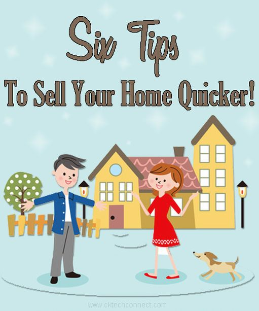 Six Tips to Sell Your Home Quicker! | Things to sell, Home ...